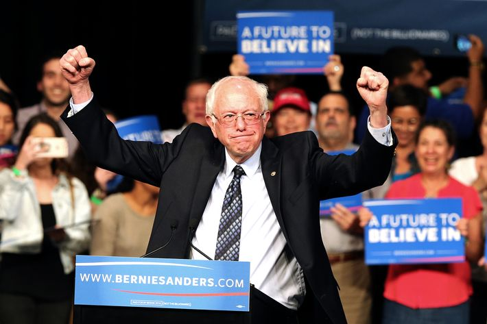 Democratic presidential candidate Bernie Sanders in Florida