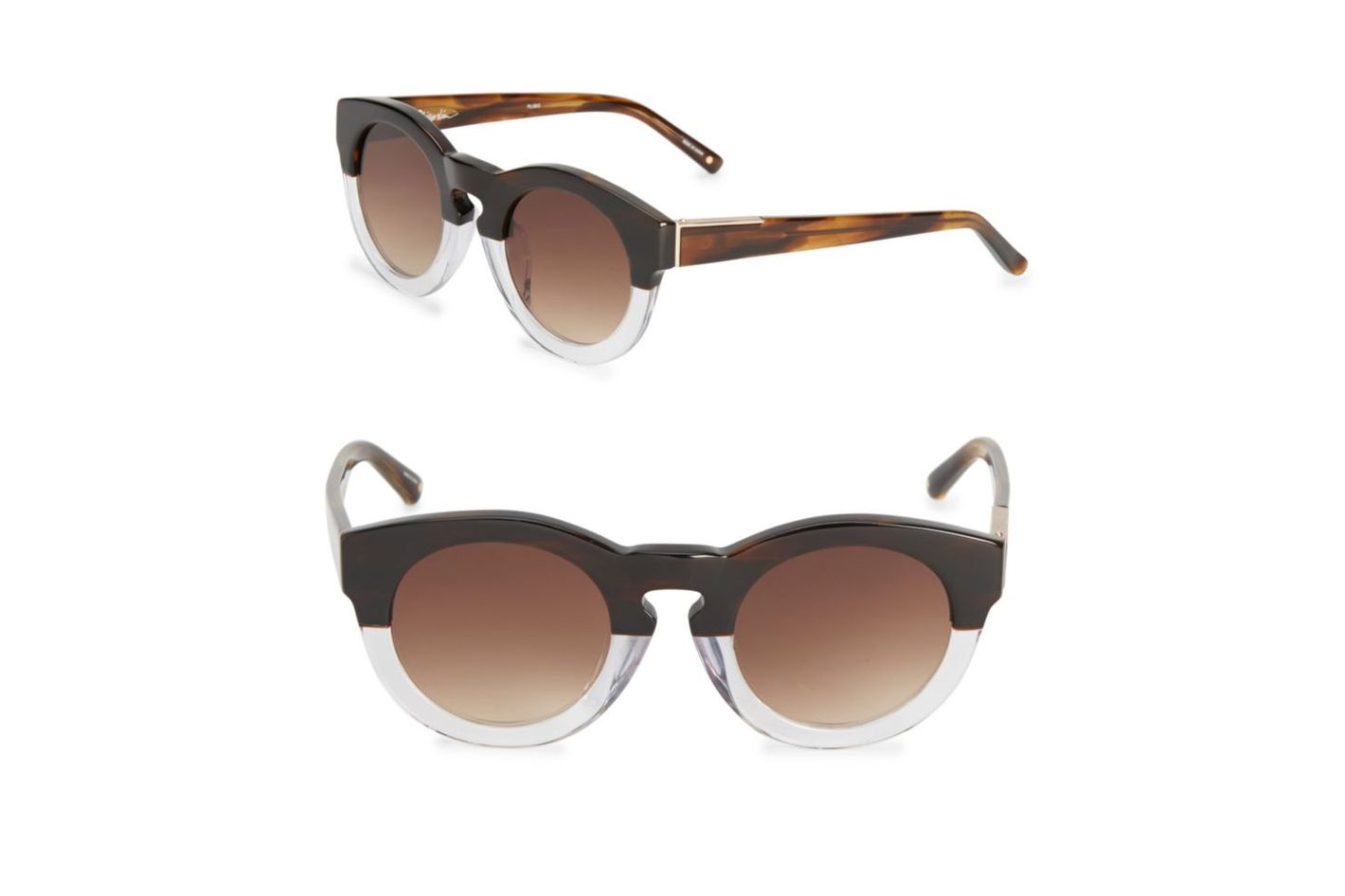 3.1 Phillip Lim 49mm Speckled Pantos Sunglasses