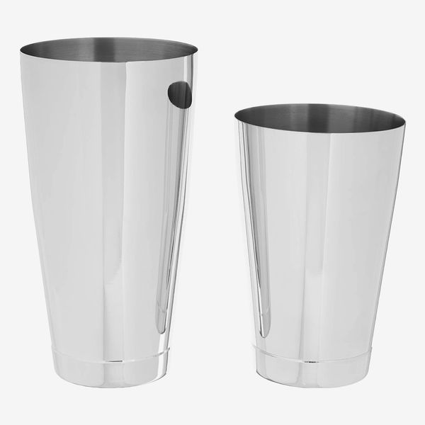 Barfly Weighted Cocktail Mixing Shaker Tin Set