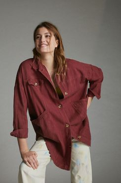Anthropologie Avery Embroidered Kimono Jacket