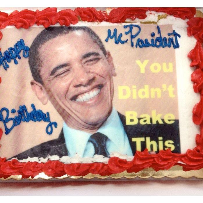 Amazing The Rnc Put A Joke On President Obamas Birthday Cake Funny Birthday Cards Online Inifodamsfinfo