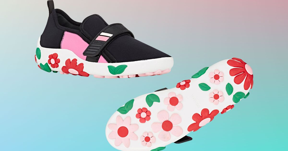 Colorful Prada Sneakers for Every Black Outfit You'll Wear This Winter