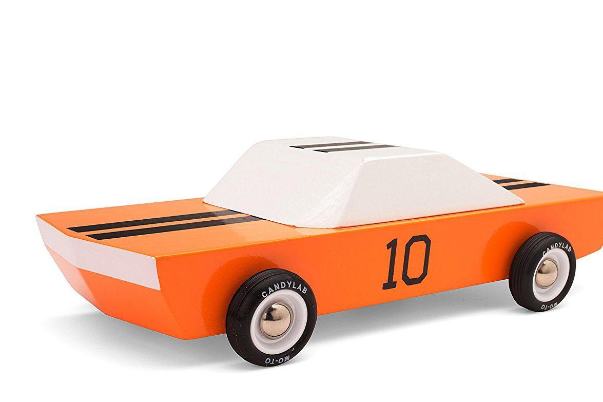 Candylab Toys GT10 Wooden Car Modern Vintage Racer