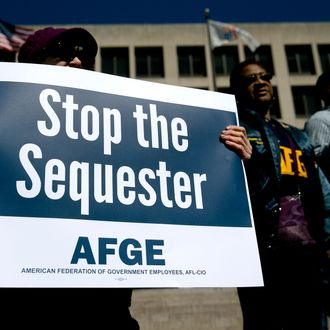 Judge Can't Sequester Because of Sequester