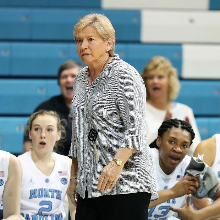 UNC head coach Sylvia Hatchell.