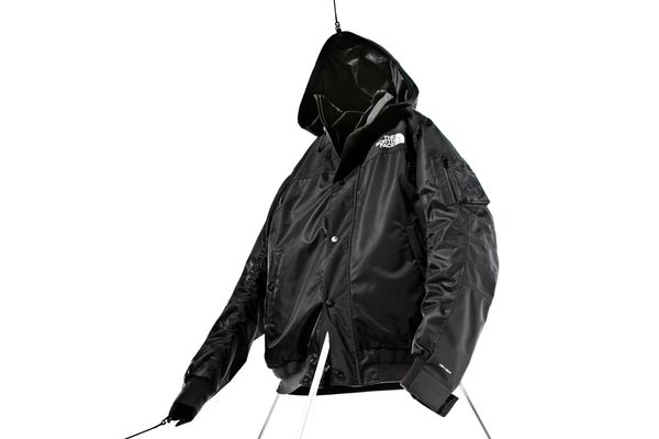 Sacai x The North Face Puffer Bomber Coat