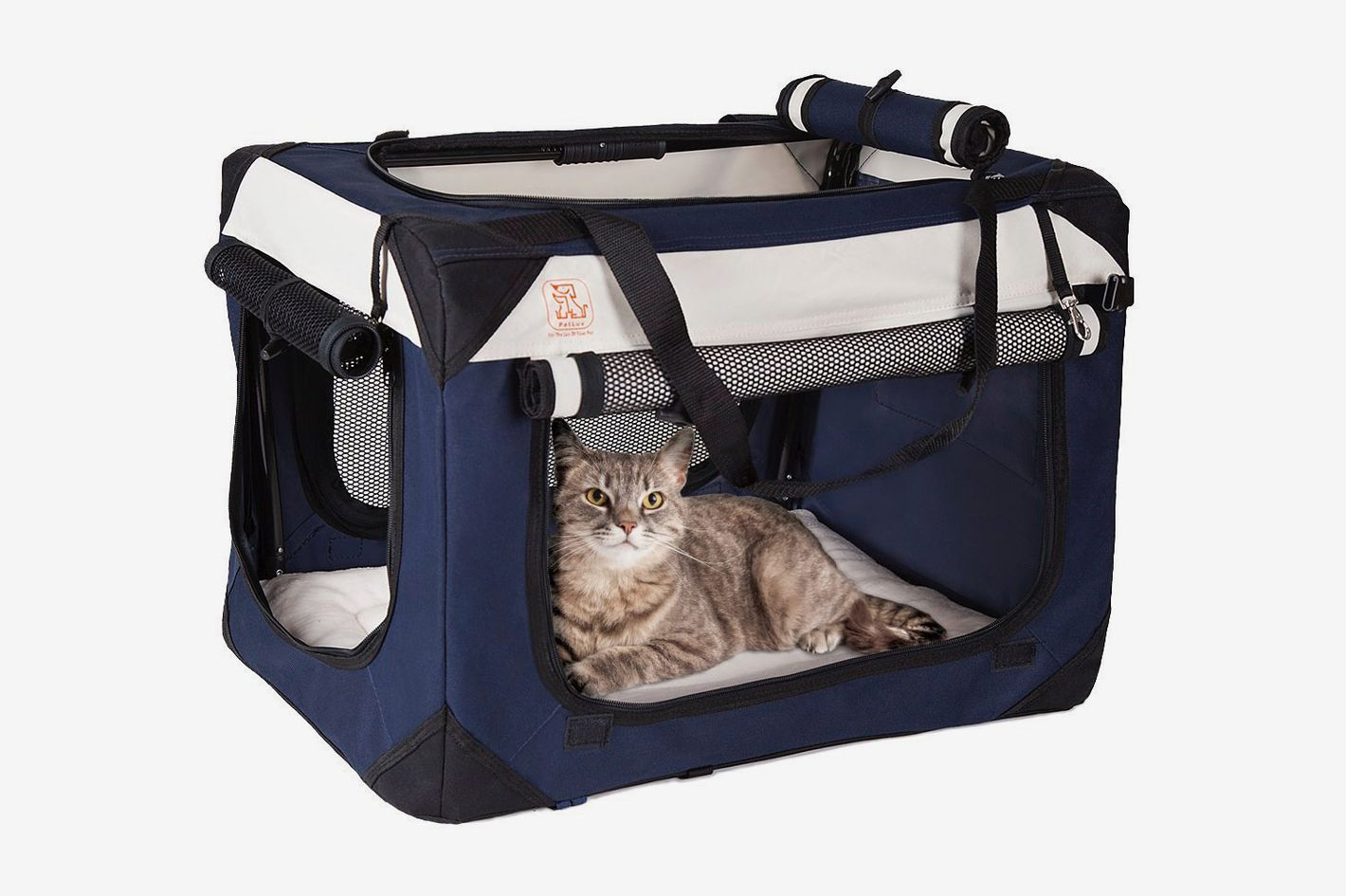 "PetLuv Soothing ""Happy Cat"" Premium Soft Sided Cat Carrier — Medium/Large"