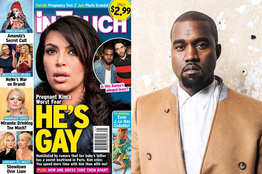 Kanye west gay rumors