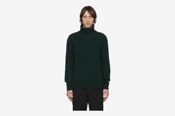 APC Green Sven Turtleneck