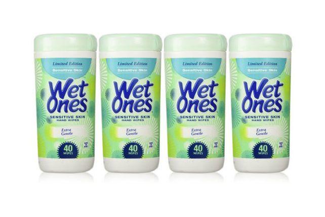 Wet Ones Sensitive Skin Hand Wipes