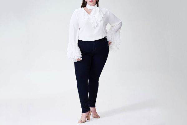 Rodarte X Universal Standard Blousein White