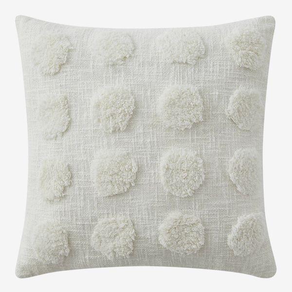 Refinery29 Frida Cotton Tufted Throw Pillow