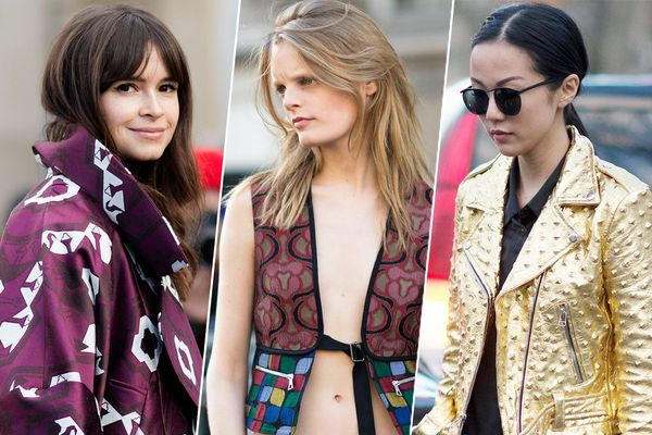 The 22 Best-Dressed People From PFW, Part 1