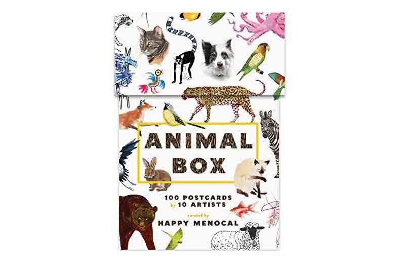 Happy Menocal Animal Box Postcards