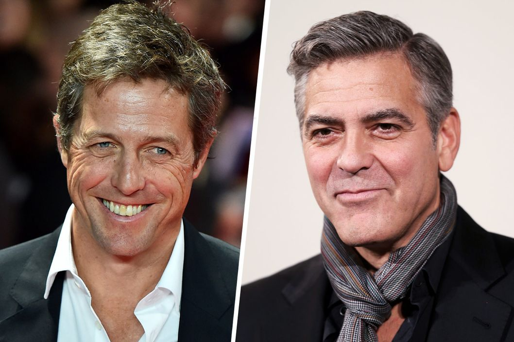 Hugh Grant and George ...