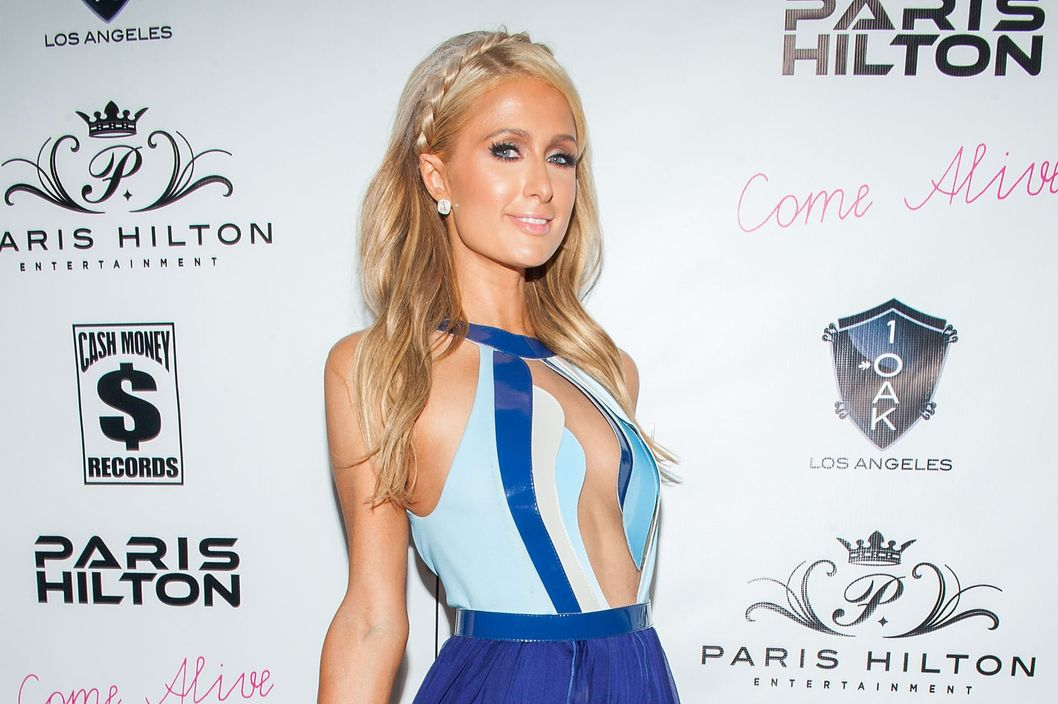 "WEST HOLLYWOOD, CA - JULY 10:  Paris Hilton arrives at Paris Hilton's New Single ""Come Alive"" Release Party at 1OAK on July 10, 2014 in West Hollywood, California.  (Photo by Valerie Macon/Getty Images)"