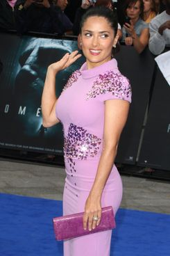 Salma Hayek World Premiere of 'Prometheus' at the Empire, Leicester Square, London, England. May 31st, 2012