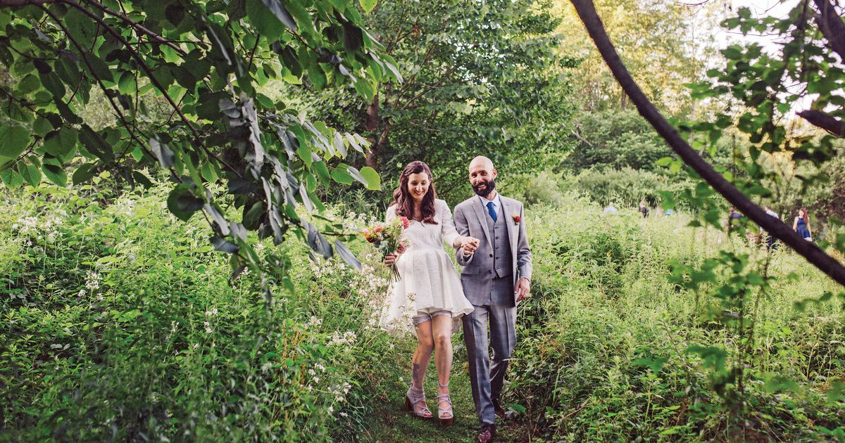 Nymag Real Weddings: Real Wedding Album: A Woodland Adventure At A Flower Farm