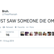 Twitter User Appears to Have Live-Tweeted the Shooting of Michael Brown