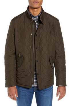 Barbour 'Powell' Regular-Fit Quilted Jacket