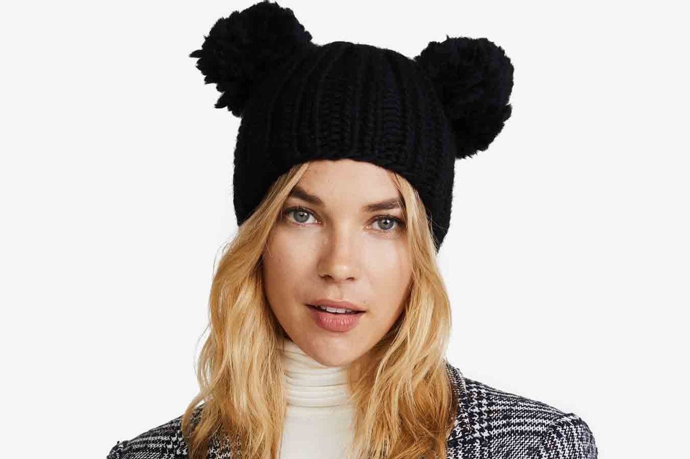Eugenia Kim Mimi Pom Beanie Hat at Shopbop 469962386043