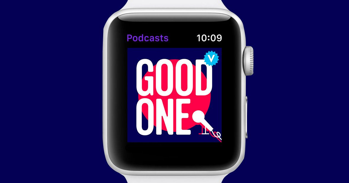 You Can Finally Listen to Podcasts with Your Apple Watch