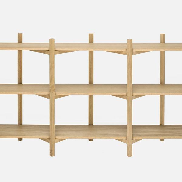 Hem Zig Zag Low Shelf by Studio deFORM