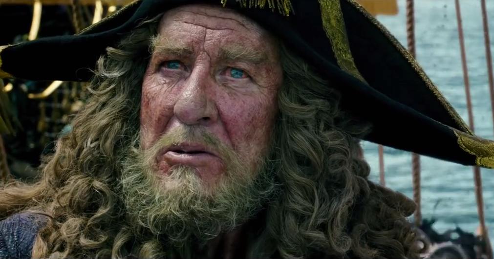 geoffrey rush orlando bloom return in pirates 5 trailer