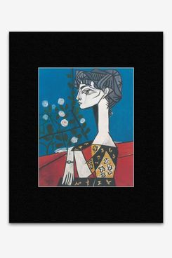Pablo Picasso - Jacqueline With Flowers Mini Poster - 40.5x30.5cm