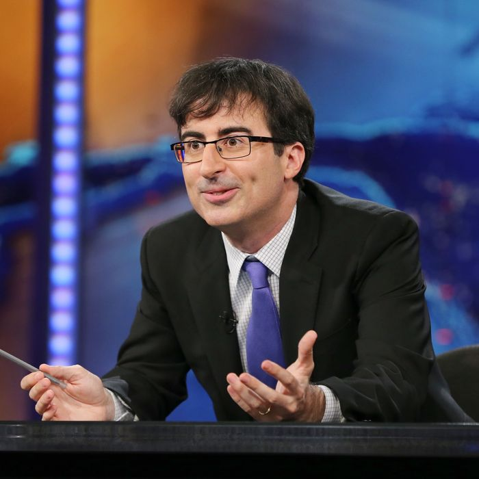 NEW YORK, NY - JUNE 10: John Oliver takes over as summer guest host of