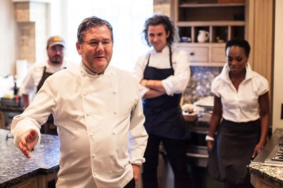 Charlie Trotter, Sean Brock, Maxime Billet, and Rochelle Trotter