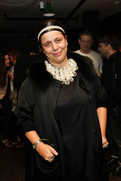 Ikram Goldman==Rodarte After Party==Acme, NYC==February 14, 2012.