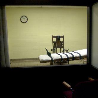 An Ohio death chamber.