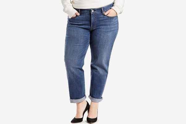 Levi's Straight Boyfriend Jeans