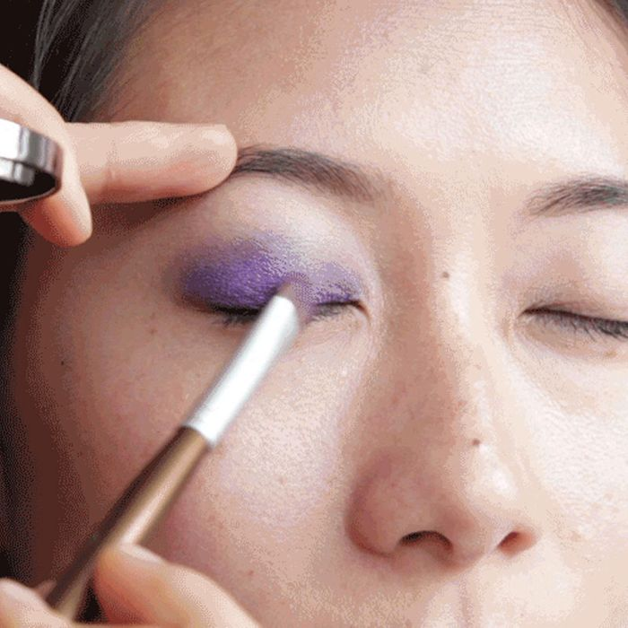 How To Apply Purple Eye Shadow To Asian Eyes