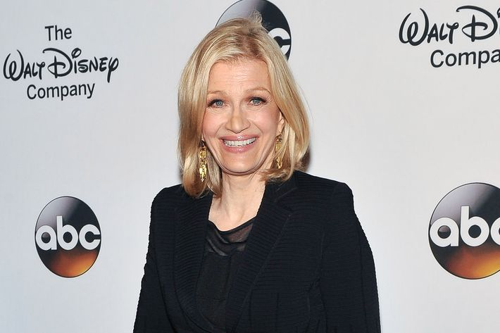 NEW YORK, NY - MAY 14:  Diane Sawyer attends A Celebration of Barbara Walters Cocktail Reception Red Carpet at the Four Seasons Restaurant on May 14, 2014 in New York City.  (Photo by D Dipasupil/Getty Images)