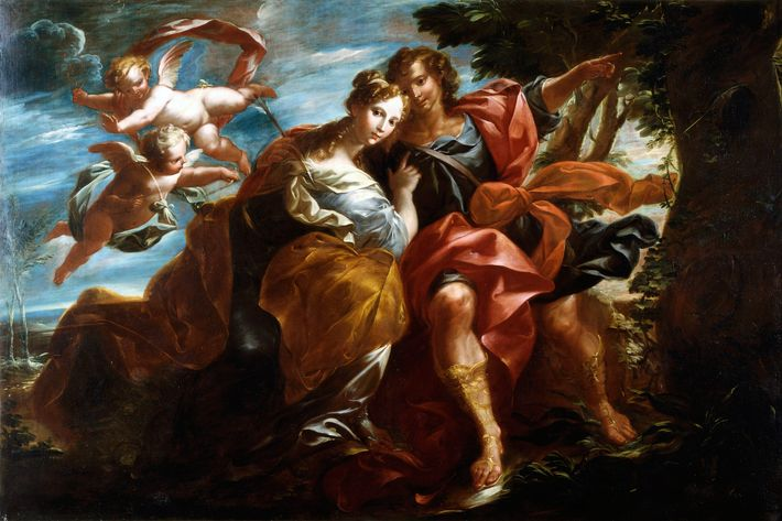 Angelica and Medoro (unknown artist)