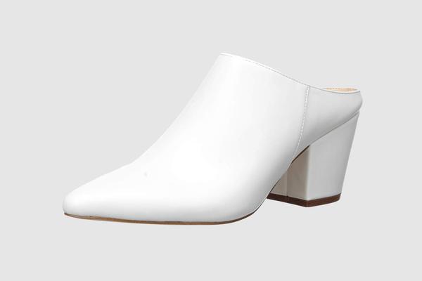 The Drop Women's Jordan Pointed Toe Block Heel Mule