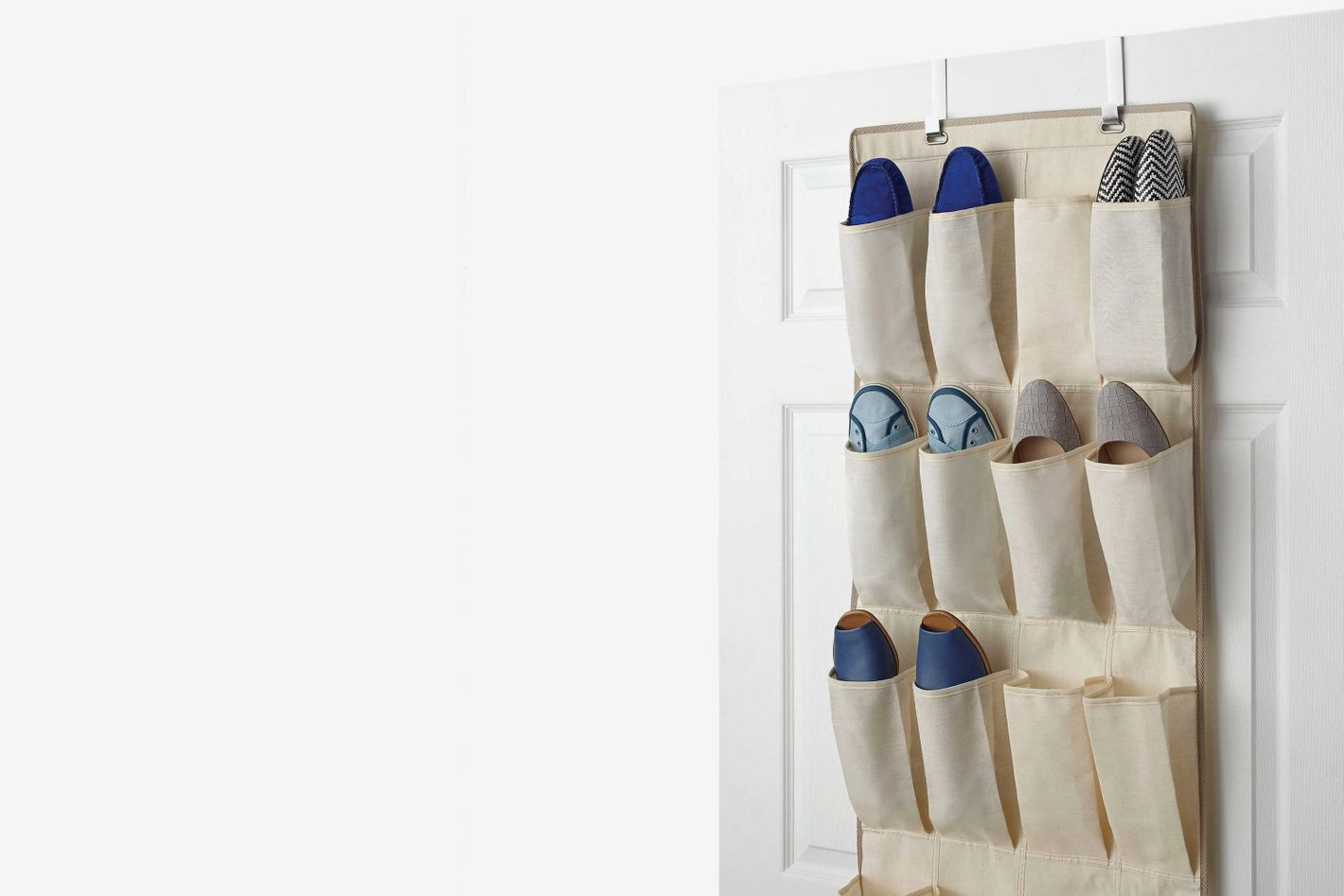 Real Simple Over The Door Shoe Organizer At Bed Bath U0026 Beyond