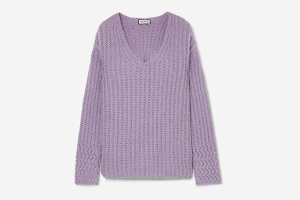 Paul & Joe Joris Oversized Ribbed-Knit Sweater