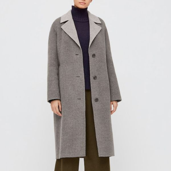 Uniqlo Double-Faced Belted Coat (JW Anderson)