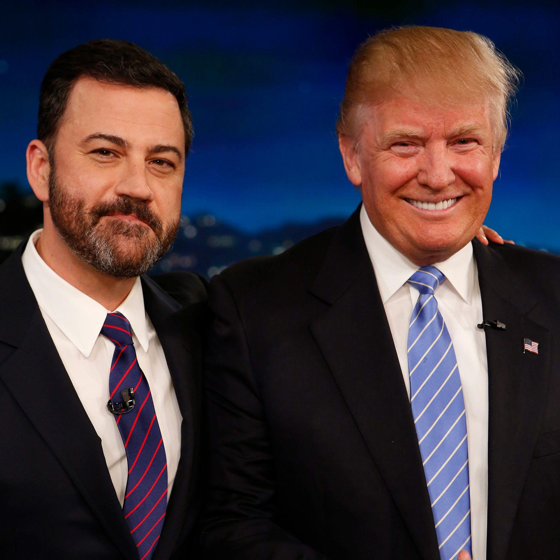 ¿Cuánto mide Jimmy Kimmel? - Altura - Real height Bd716c4b981c9138a061c6861e63d8febe-16-jimmy-kimmel-donald-trump.2x.rsquare.w1200