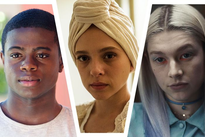 Akili McDowell for David Makes Man, Shira Haas in Unorthodox, and Hunter Schafer in Euphoria.