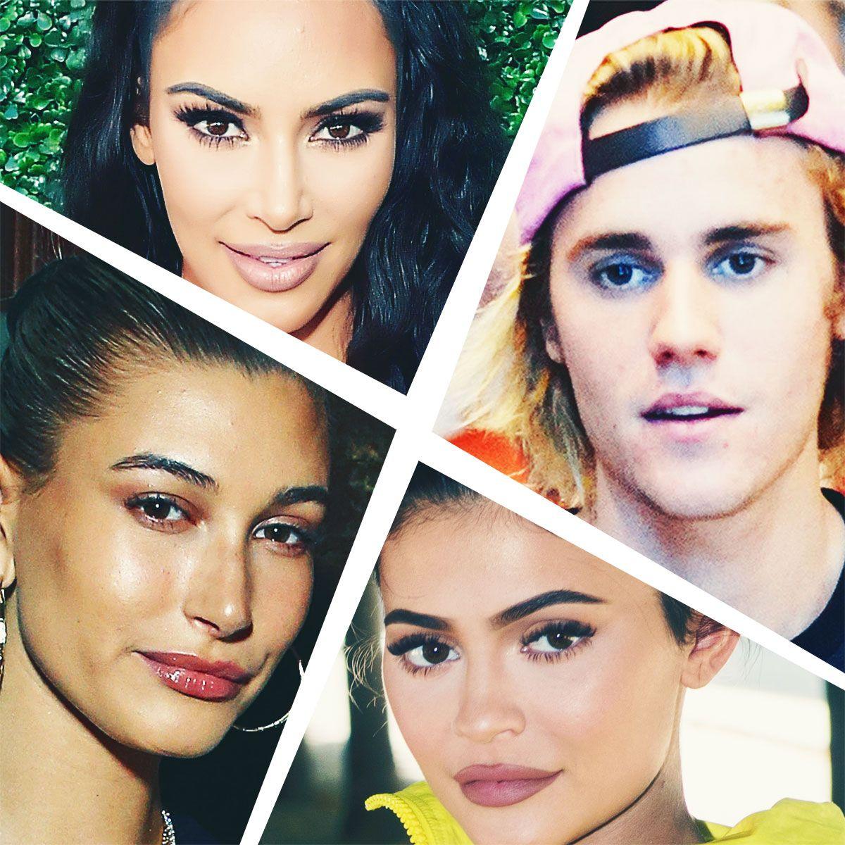 300c30fc6 Justin Bieber and Hailey Baldwin's Kardashian Connections