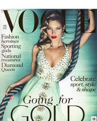 Kate Moss for British <em>Vogue</em>.