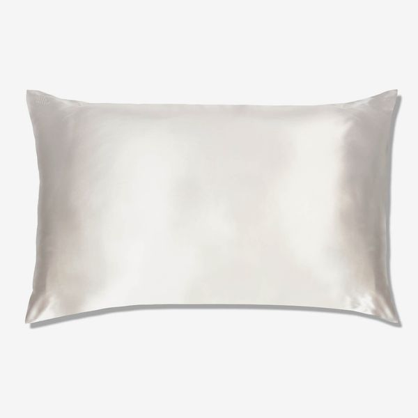 Slip Silk Pillowcase - Queen - White