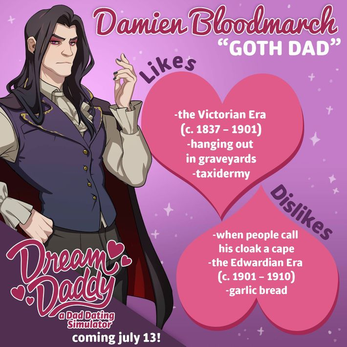 dating your dad nymag Dream daddy: how the gay dad they're dads looking to date other dads in a new game called dream daddy: a dad dating simulator well, your dad.