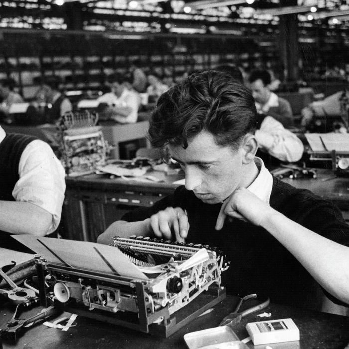 Men at work.