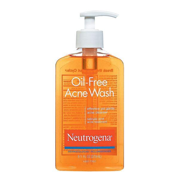 Neutrogena Oil-Free Salicylic-Acid Acne-Fighting Face Wash