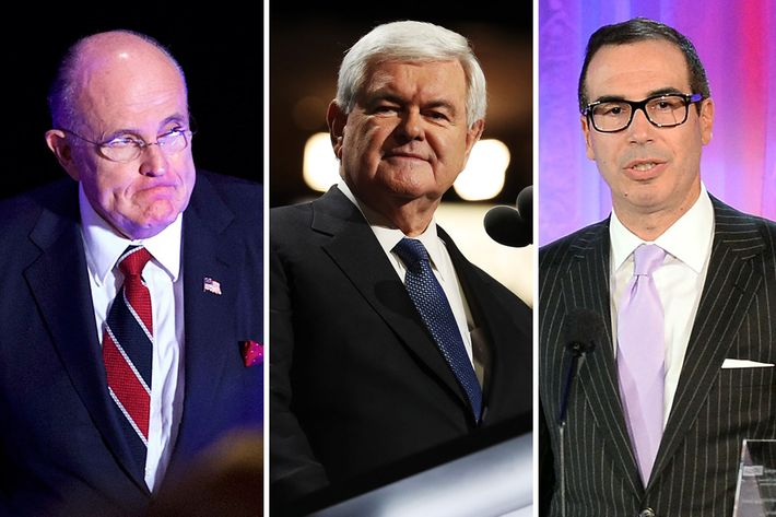 The Trump Cabinet Is Shaping Up to Be a Total Sausagefest